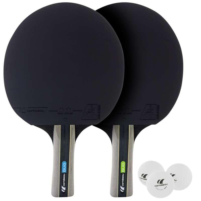 FREE RACKETS Tischtennis - Tischtennis-Set Pack duo CORNILLEAU - Tischtennis Ausrüstung