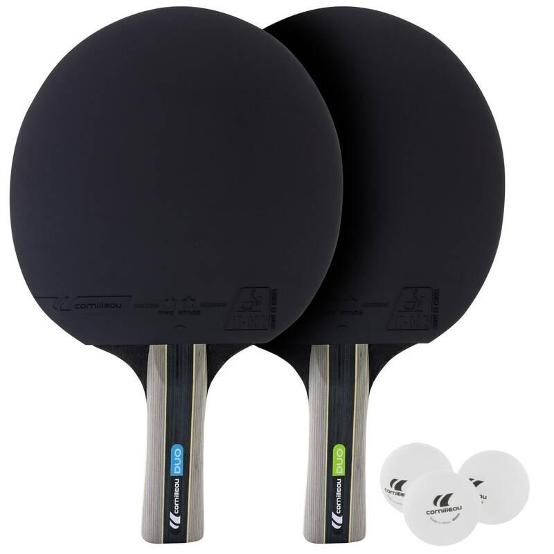 PÁLKY NA NA INDOOR STOLNÍ TENIS RAKETOVÉ SPORTY - SADA DUO CORNILLEAU - Stolní tenis, ping pong