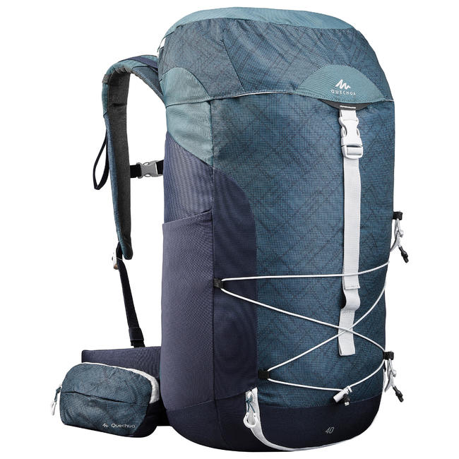 Hiking Backpack 40 Litre MH100 - Grey