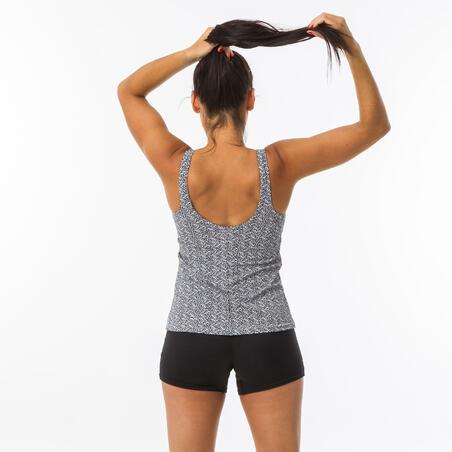 Women's Swimming 1-piece Tankini Swimsuit Heva - Mipy Black
