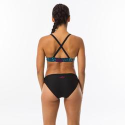 Zwemtop dames Riana Eve zwart