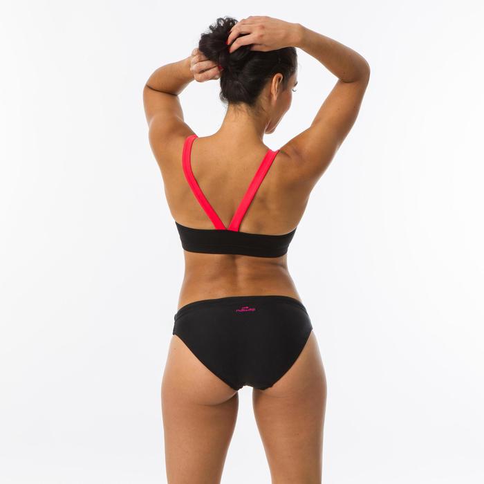 Haut de maillot de bain de natation femme Riana Gabo noir