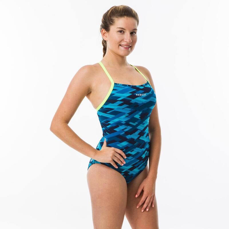 Sportbadpak voor zwemmen dames Jade all rain