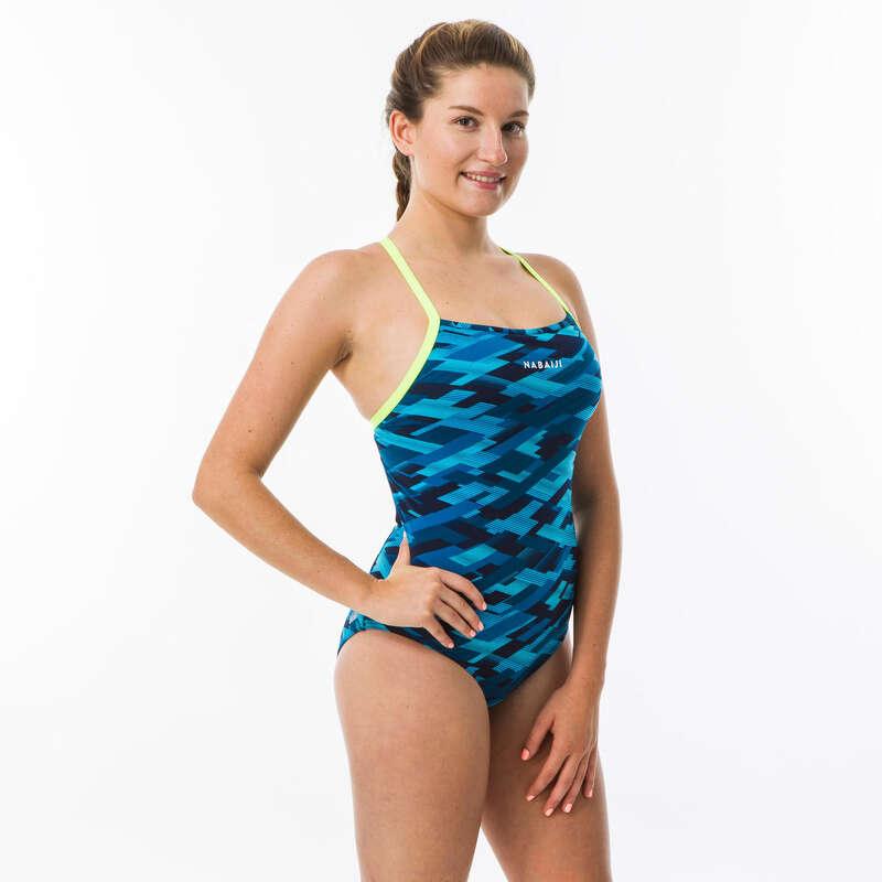 Női úszódressz Úszás, uszodai sportok - Női úszódressz, Jade All Rain NABAIJI - Úszás felszerelés