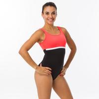Women's Swimming One-Piece Swimsuit Heva Li - Black Coral