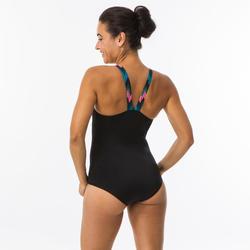 Maillot de bain de natation femme une pièce Vega all cheve black