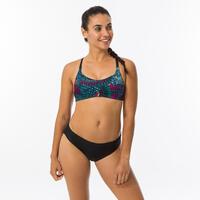 Riana Women's Bikini Top - Eve Nero Black