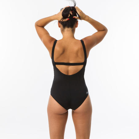 Heva+ Women's One-Piece Swimsuit - Black
