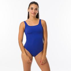 Maillot de bain de natation femme 1 pièce Heva bleu