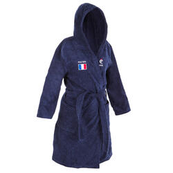 Women's Water Polo Thick Cotton Pool Bathrobe - Official France