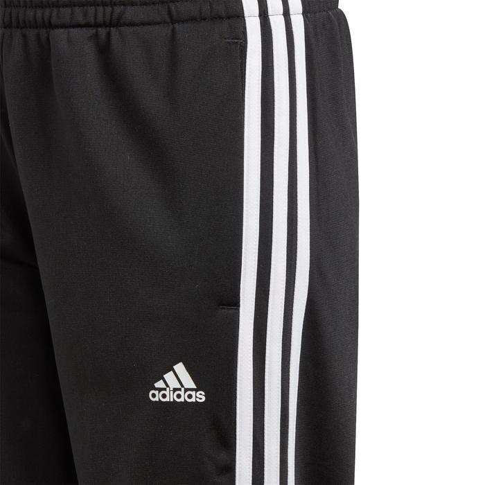 Survêtement garçon noir logo sur la poitrine adidas