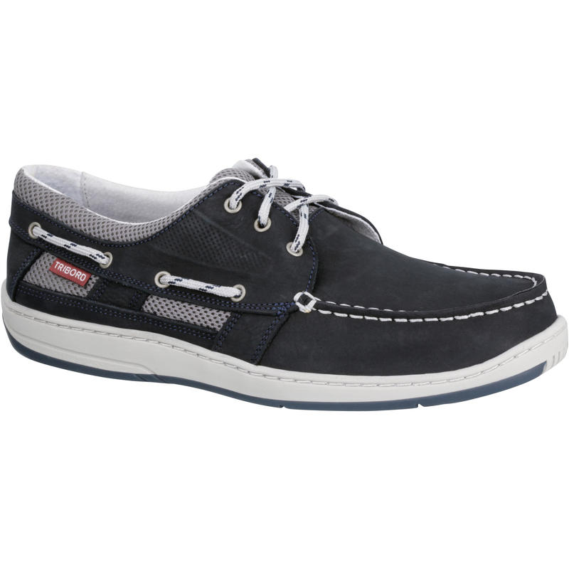 Clipper Men's Non-Slip Boat Shoes - Bleu