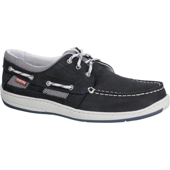Chaussures bateau cuir homme CLIPPER - 188995