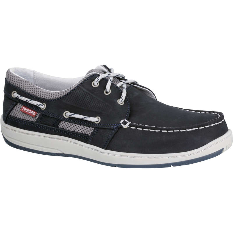 CRUISING SHOES MAN Sailing - M CLIPPER shoes - Blue TRIBORD - Sailing
