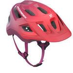 Rockrider Mountain Biking Helmet ST 500 - Purple Ombre