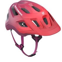 Fahrradhelm MTB ST 500 violett