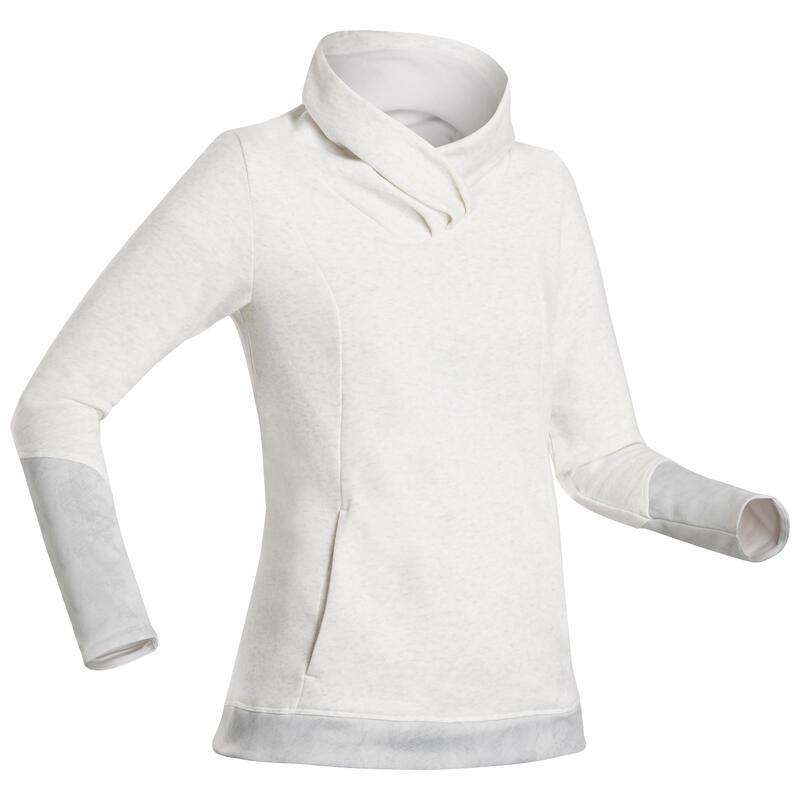Camisola de Caminhada - NH500 Mulher - Branco