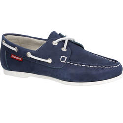 Cruise 500 Women's Leather Boat Shoes Navy Blue