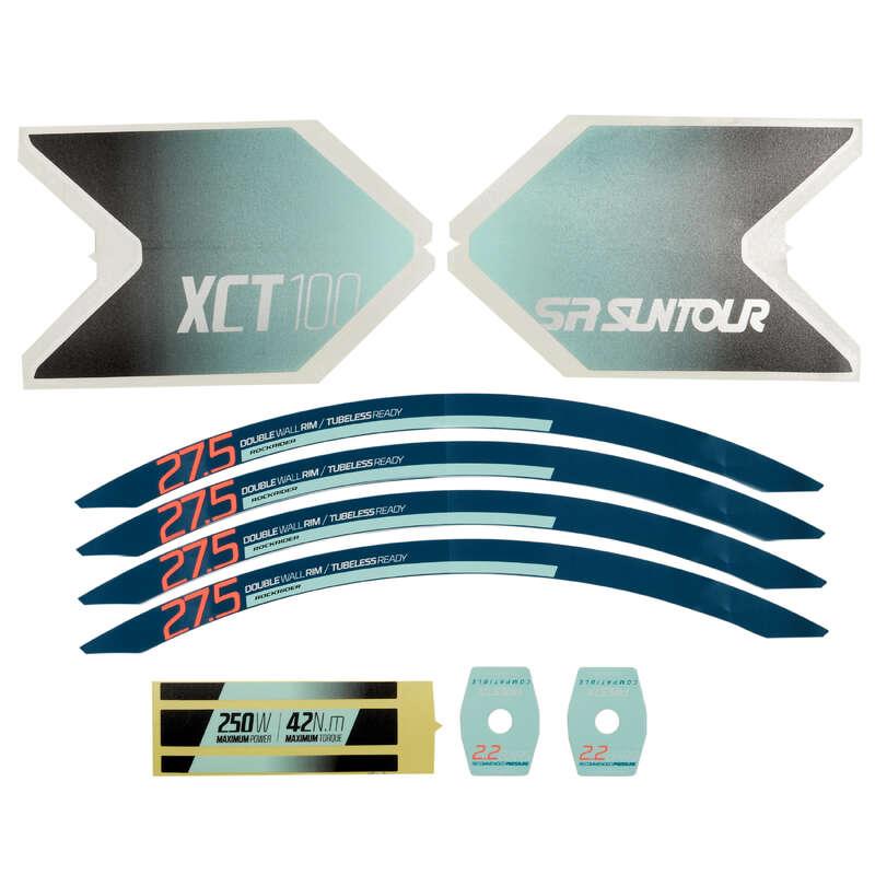 ACCESORII MTB - KIT stickere E-ST 100 Alb  ROCKRIDER