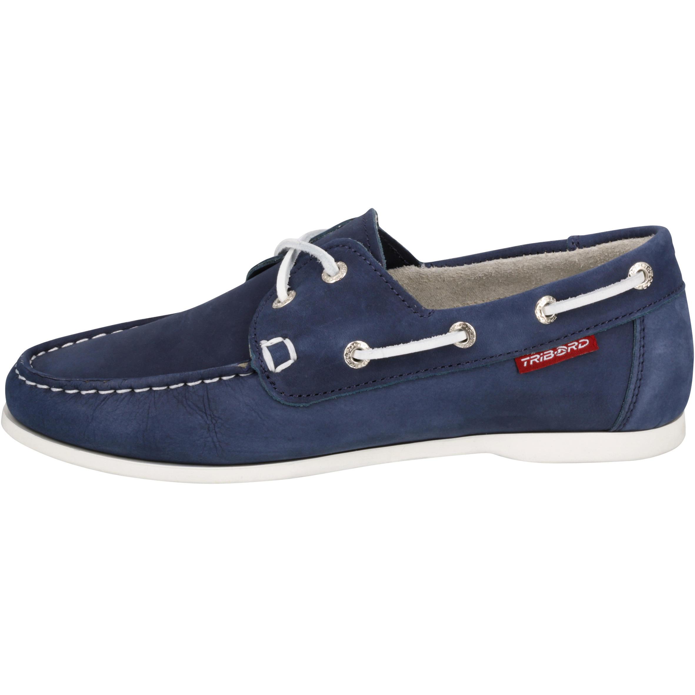 Navy Cruise Women's Leather 500 Shoes Blue Boat u3TJ51lFKc