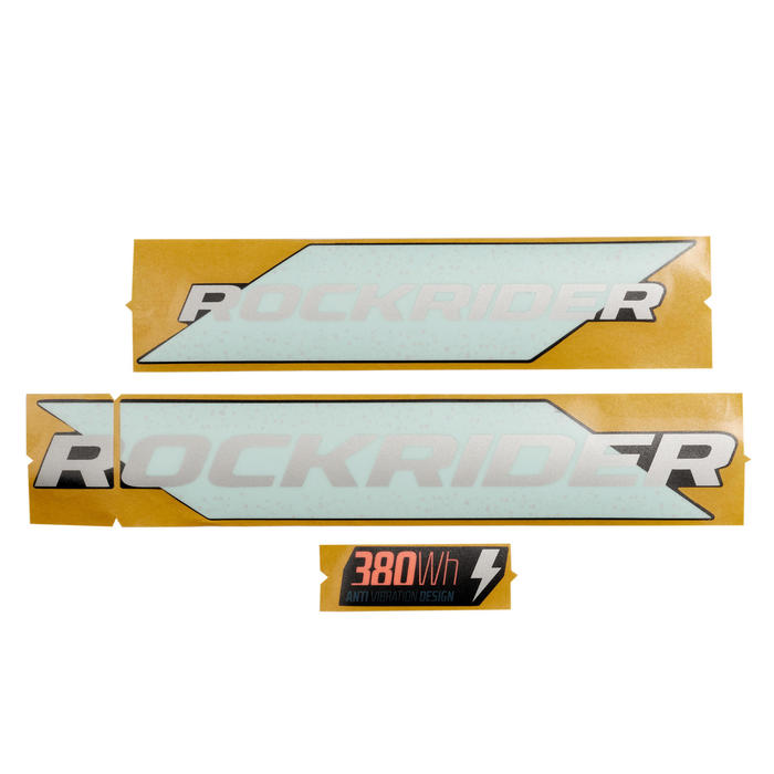 STICKERS DE BATTERIE E-ST 100 BLANC