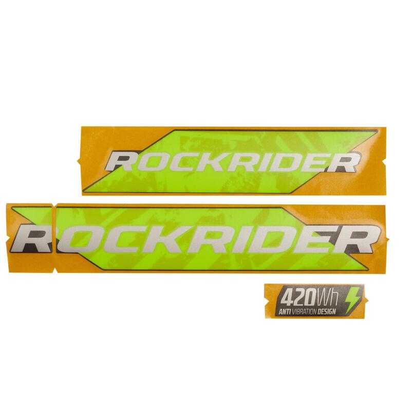 Batterijstickers E-ST520 geel