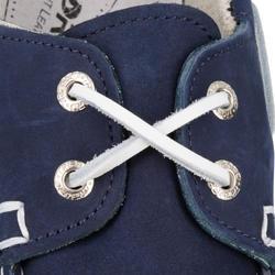 Chaussures bateau cuir femme Cruise 500 bleu marine