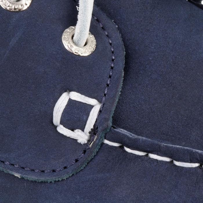 Segelschuhe Leder Cruise 500 Damen marineblau