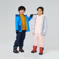 Kids' 2-6 Years Hiking Waterproof and Lightweight 3-in-1 Jacket SH100 X-Warm