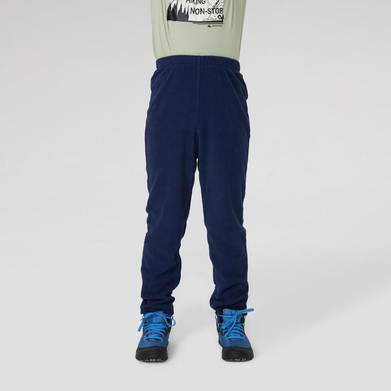 Çocuk Polar Pantolon - Mavi - MH100Tween