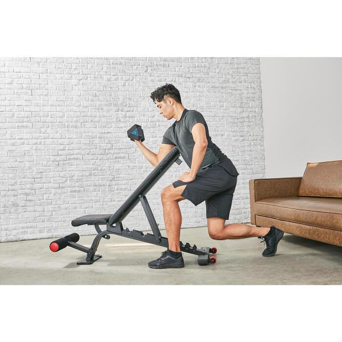 Banco Reforçado de Musculação 900 Inclinável/Reclinável
