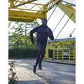 PÁNSKÉ BĚŽECKÉ HŘEJIVÉ OBLEČENÍ NA BĚH PO SILNICI Běh - LEGÍNY KIPRUN WARM ČERNÉ KIPRUN - Běžecké oblečení