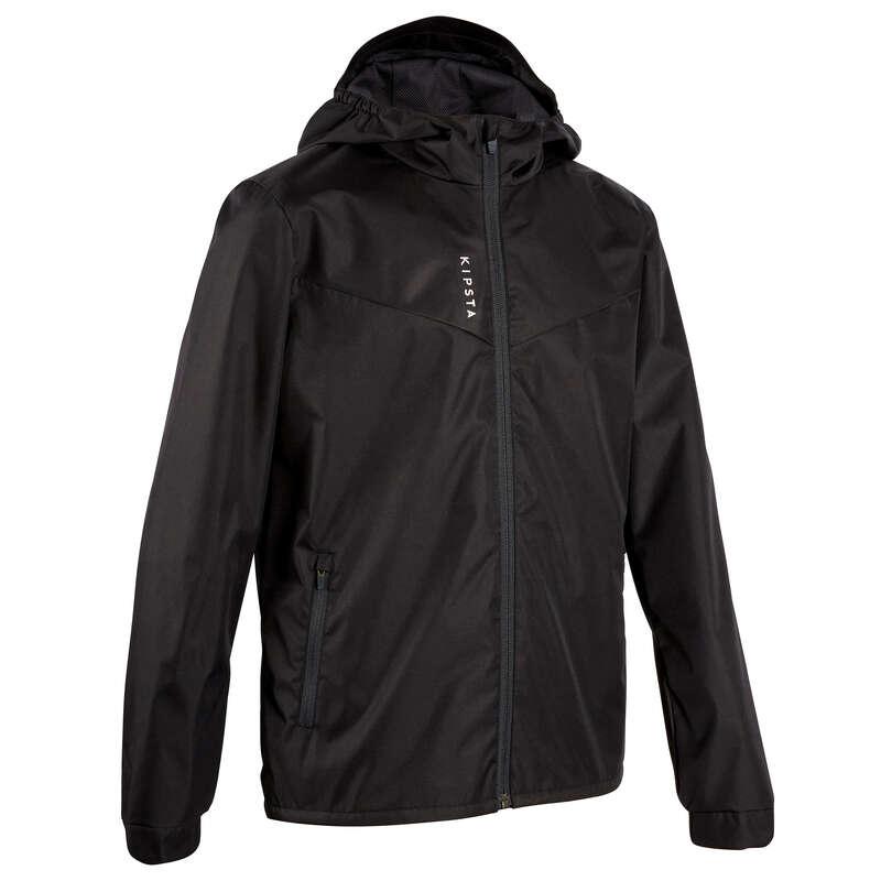 TEXTILE VREME RĂCOROASĂ/RECE JUNIORI Imbracaminte - Jachetă Protecție Ploaie T500  KIPSTA - Imbracaminte