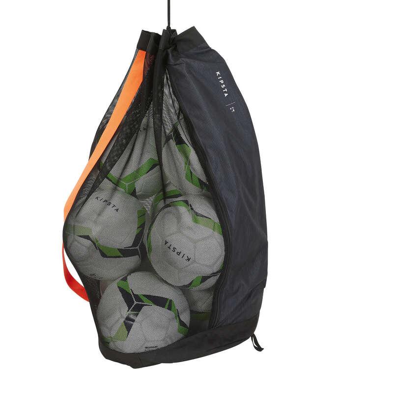 Accesorii sporturi de echipă Futsal - Husă 8 Mingi Fotbal Negru KIPSTA - Aparatori si accesorii de antrenament