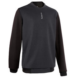 Voetbalsweater T100 zwart
