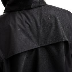 Regenjas voor voetbal kinderen T500 zwart