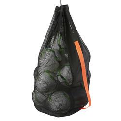 Ballenzak voor 16 ballen zwart