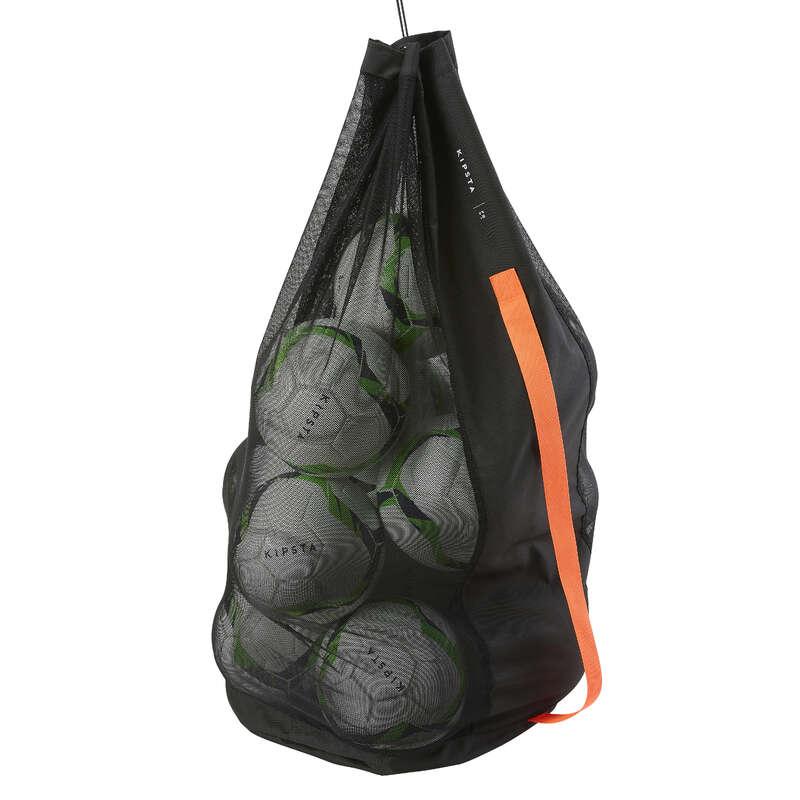 TILLBEHÖR LAGSPORT Lagsport - Bollsäck 16 bollar svart KIPSTA - Rugbytillbehör