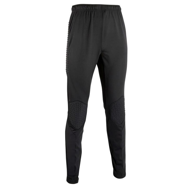 Pantalon de gardien de but adulte F500 noir