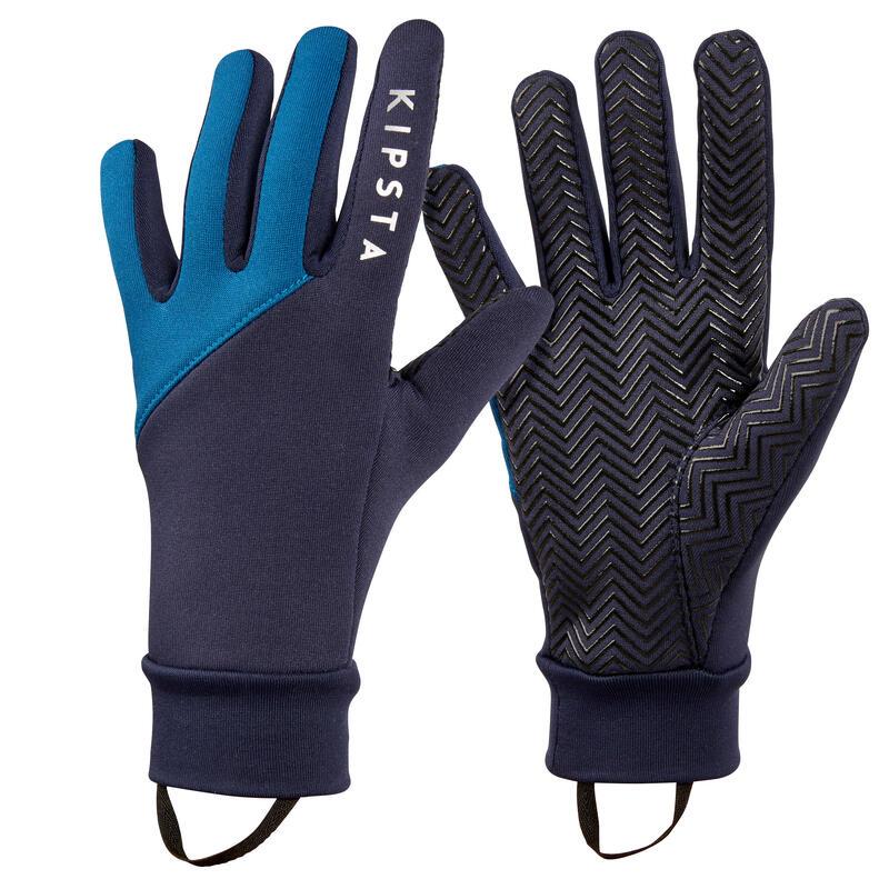 Adult Football Gloves Keepdry 500 - Blue