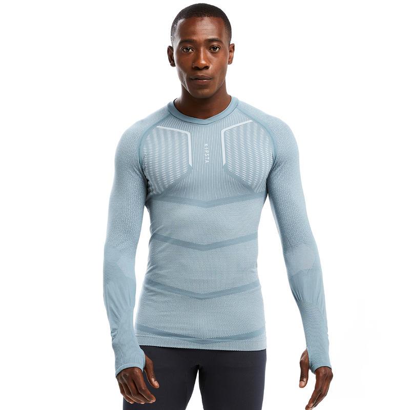 Sous-vêtement haut thermique adulte Keepdry 500 gris clair