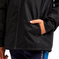 Manteau de soccer imperméable T500 - Enfants