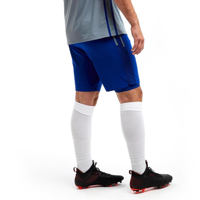 Voetbalbroekje met binnenbroek F540 TRX blauw