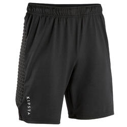 Short de gardien de but F500 adulte noir