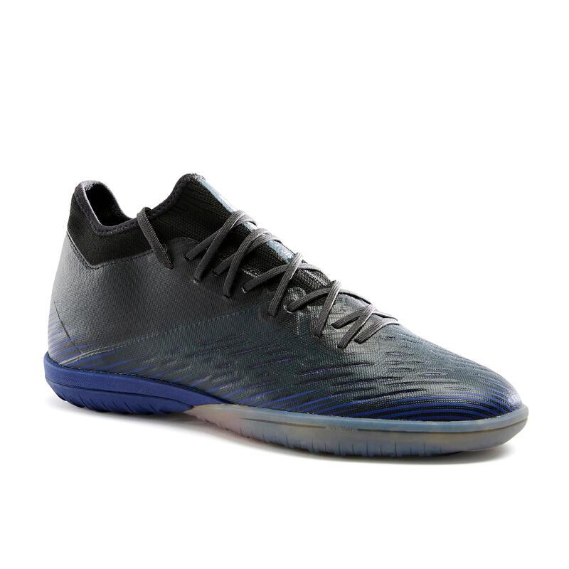 Chaussure de football terrain dur CLR TURF TF noir et bleu