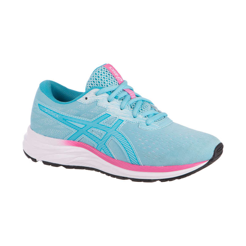 KIDS ATHLETICS SHOES Running - GEL-EXCITE 7 BLUE AH20 ASICS - Running