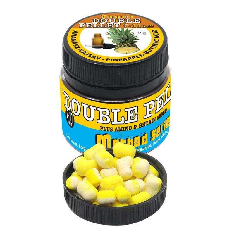 ETET#ANYAGOK, CSALIK FEEDER & MATCHBOTOS Horgászsport - Double soft pellet ananász-vaj TIMÁR - Horgászsport