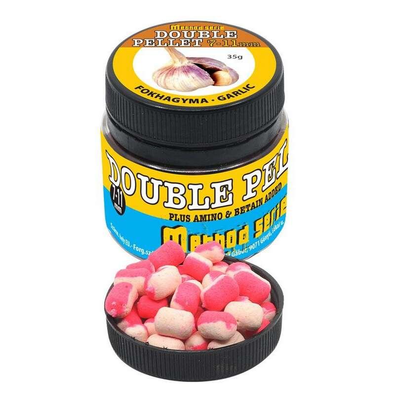 ETET#ANYAGOK, CSALIK FEEDER & MATCHBOTOS Horgászsport - Double soft pellet fokhagyma TIMÁR - Horgászsport