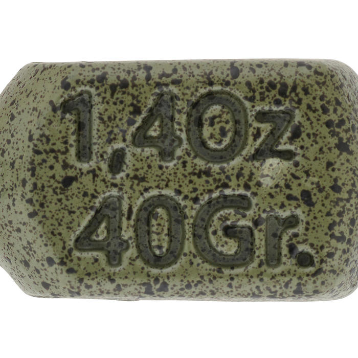 Loodjes voor karpervissen Square 40 g (x2)