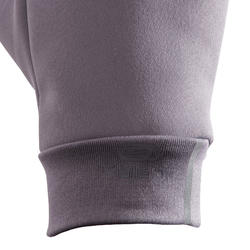 觸控式螢幕手套 - 灰色紫色